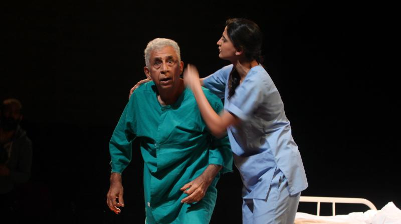 A scene from Naseeruddin Shah's The Father.