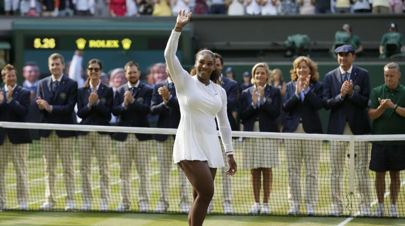 Serena Williams' husband shares sweet, supportive words after Wimbledon loss
