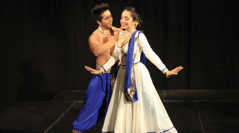 Svetlana Tulasi and Kumar Sharam.