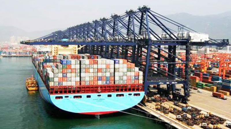 Trade deficit, the difference between exports and imports, widened to USD 15.33 billion in April 2019 from USD 13.72 billion in April 2018. (Representational image)
