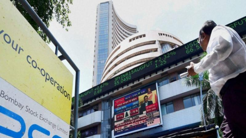 Sensex Rises Over 100 Points, Nifty Trades Above 10350