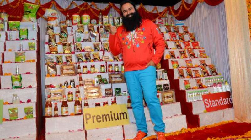 Gurmeet Singh Ram Rahim Insan, who was convicted in a 15-year-old rape case, had launched his ayurveda FMCG brand 'MSG' last year.