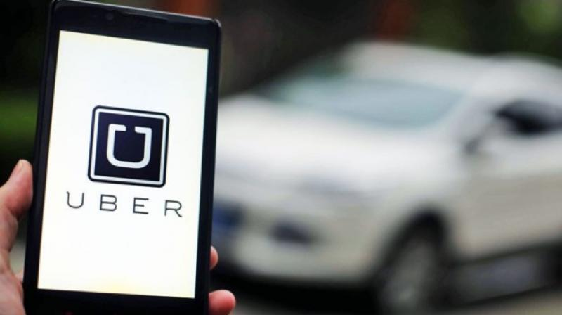 Uber is a global provider of app based taxi service. (Photo: AP)