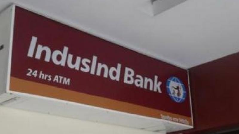 IndusInd Bank shares fall 2 pc