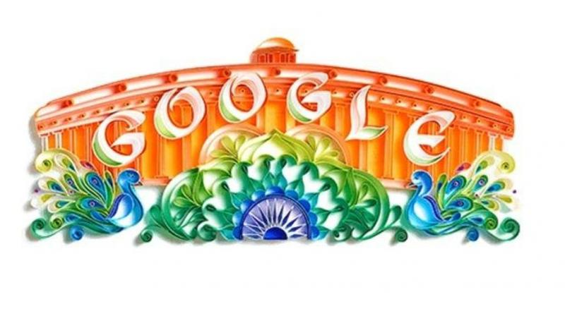 Google plans to introduce a localised digital payment service in India called 'Tez', as early as next week. Photo: Google Doodle
