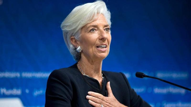 International Monetary Fund chief Christine Lagarde submitted her resignation from the global crisis lender on Tuesday. (Photo:AP)