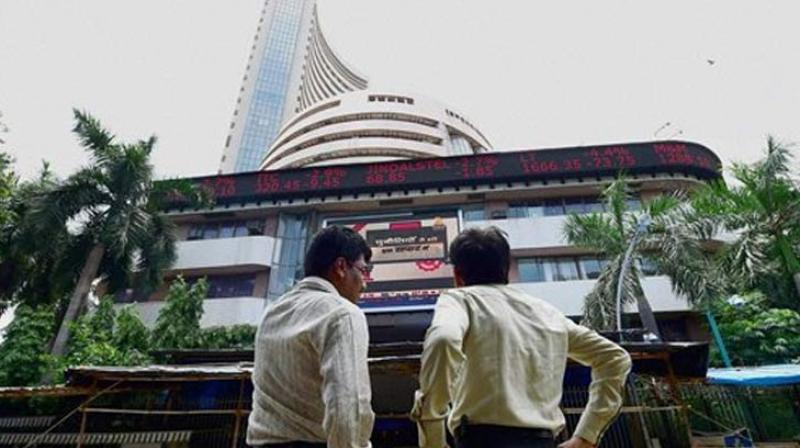 The Sensex on Tuesdaydropped by 92 points to end at three-week low of 32,941.87 points. (Photo: AP)