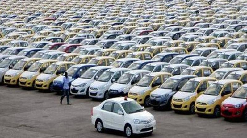 Domestic passenger vehicle sales declined marginally to 2,79,837 units in October. (Photo: PTI)