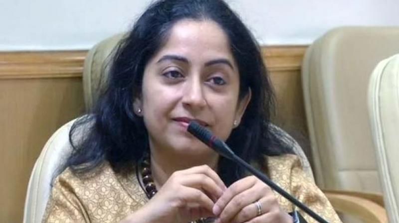 Dr Shamika Ravi, a Senior Fellow of Governance Studies Program at Brookings India and Brookings Institution Washington D.C. is attending the meeting of theEAC to Prime Minister Narendra Modi as a part-time member. (Photo: ANI)
