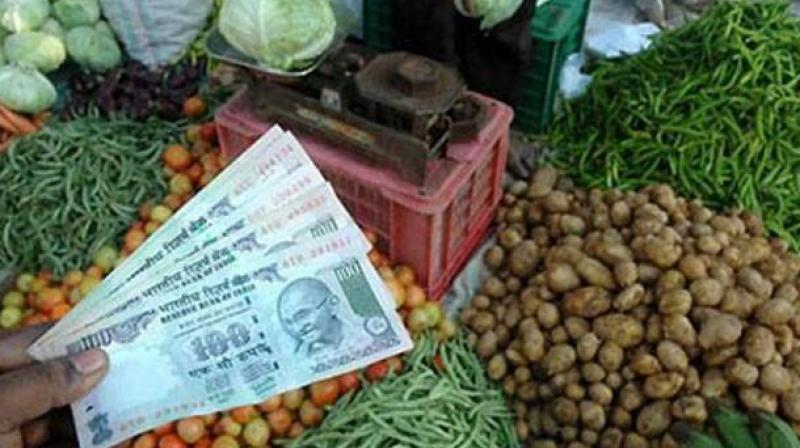 Govt data said inflation in food articles was 6.15 per cent in July as against 6.98 per cent in the previous month. (Photo: PTI)