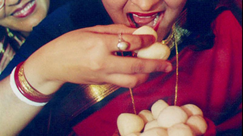 WestBengal's famous Banglar Rasogolla has got Geographical Indication (GI) tag from the Indian patent office. (Photo: AFP)