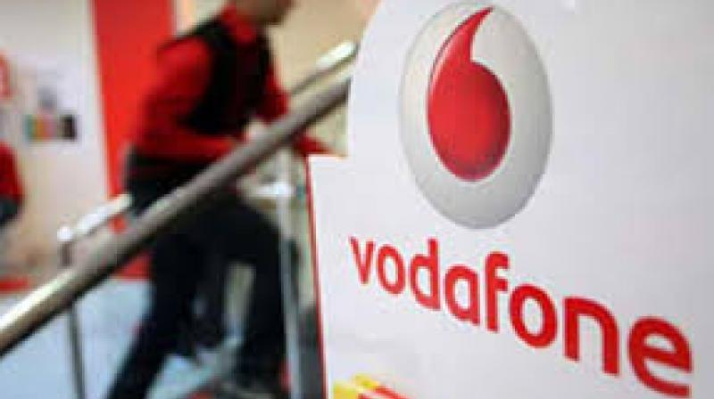 Vodafone's shares were up 0.6 per cent at 161 pence at 0931 GMT as investors focused on an upgrade to its earnings forecast rather than India. (Photo: PTI)