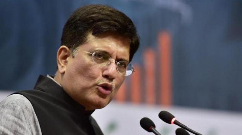 Finance Minister Piyush Goyal. (Photo: PTI)