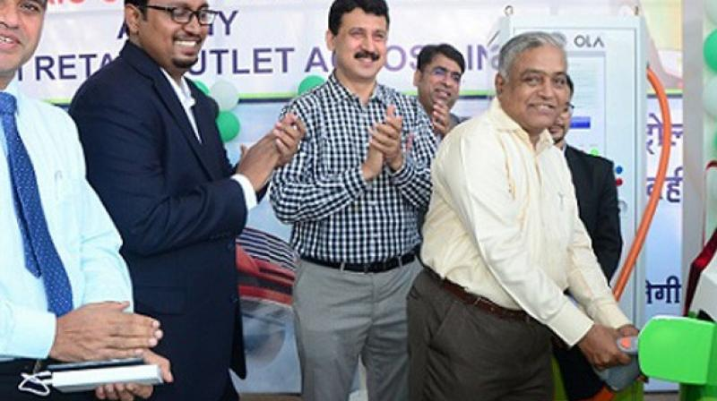 IOC Opens India's First Electric Charging Station In Nagpur