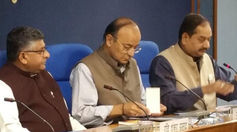 The Union Cabinet on Wednesday approved the Wage Policy for the 8th Round of Wage Negotiations for workmen in CPSEs as well as setting up of the 15th Finance Commission. (Photo: Twitter  @DG_PIB)