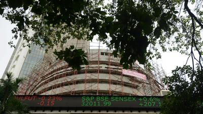 The 30-share BSE Sensex fell 108.21 points or 0.26 per cent to 41,449.79, and the broader NSE Nifty slipped to 12,227.75. (Photo: File | AP)