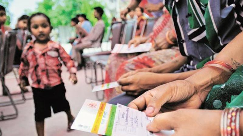 The February 6, 2018, would remain the deadline for linking Aadhaar for availing uninterrupted mobile services, Centre says. (File photo)