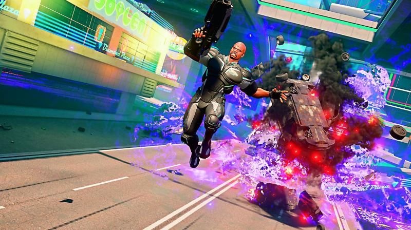 Crackdown 3 is essentially more or the same with slightly better visuals but no sight of the new cloud tech Microsoft was hoping to employ apart from it's multiplayer mode.