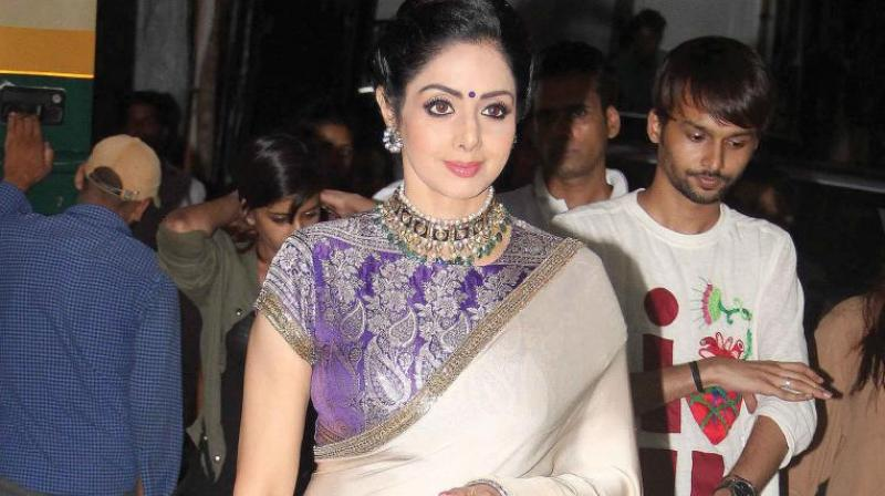 Sridevi's 'Mom' did fairly well at the box office.