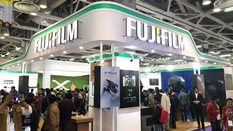 Customers witnessed Fujifilm's X and GFX range of mirrorless cameras, Instax Range of Instant Cameras, first of its kind Wonder Photo Shop Concept, Wedding/ Personalized Album Solutions and Wide Format Printing Capabilities.