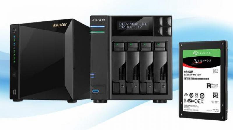 With the ASUSTOR AS4002T and AS4004T with 10-Gigabit Ethernet, ASUSTOR and IronWolf SSDs continue to break high speed barriers to meet the needs of performance users.