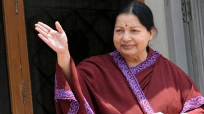 Late Tamil Nadu Chief Minister J Jayalalithaa. (Photo: PTI)