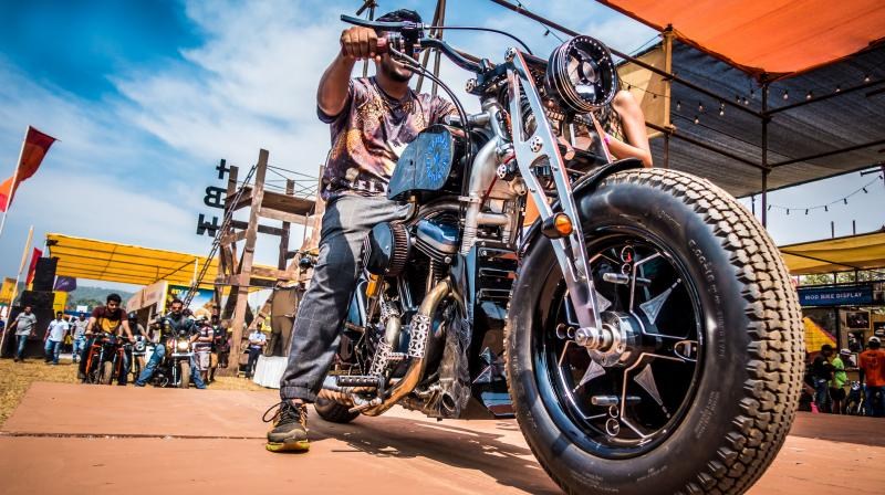 """DCosta elaborates that a few of the things to look out for this year would include more stages, music, great food and a """"much larger Biker Gear shopping area."""" (Photo: (c) India Bike Week)"""