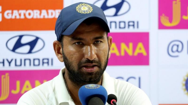 We haven't fielded well: Pujara