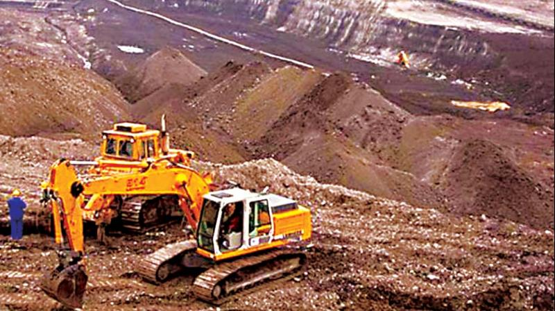 Although the Supreme Court had permitted MML to produce 40 lakh me ric tonnes of iron ore every year from its Sandur mines, the state owned company is at present able to produce only around 10 lakh tonnes a year.