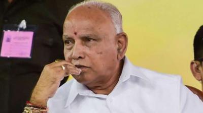 Karnataka strongman B S Yediyurappa. (PTI Photo)