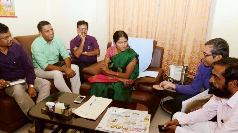 Mayor Gangambike meets officials to discuss flood-prone areas.
