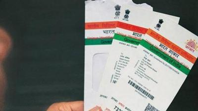 The Parliament, earlier this month, passed an amendment bill which allows voluntary use of Aadhaar as proof of identity for users to open bank accounts and get mobile phone connections. (Photo: File | PTI)