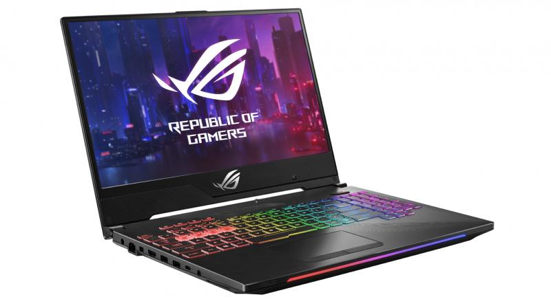 The Zephyrus S GX531 is an ultra-slim laptop that packs high-end gaming components.