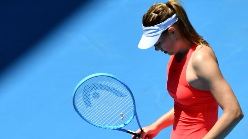 Sharapova Uncertain Over Her Future After First Round Loss