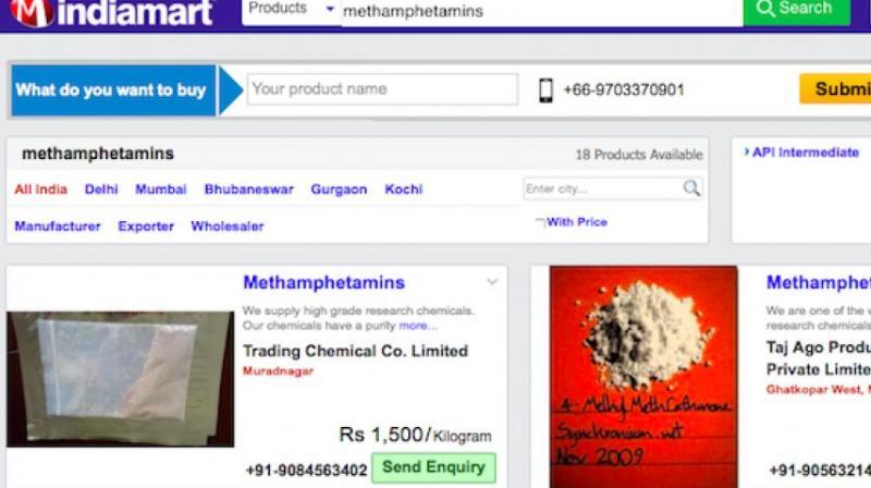 Telangana: Drug peddlers hide in plain sight