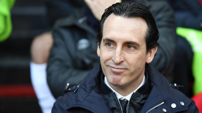 Unai Emery joins the club after completing a two-year spell at Paris Saint-Germain, where he recently landed the treble of Ligue 1, Coupe de France and the Coupe de la Ligue.(Photo: AFP)