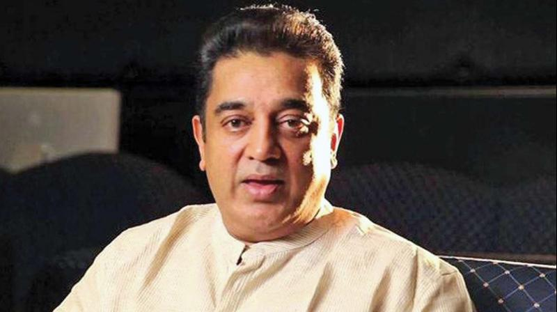 "Earlier, Haasan said this month that any imposition of Hindi would lead to a battle that will be ""exponentially bigger"" than the ''jallikattu'' protest.  (Photo: File)"