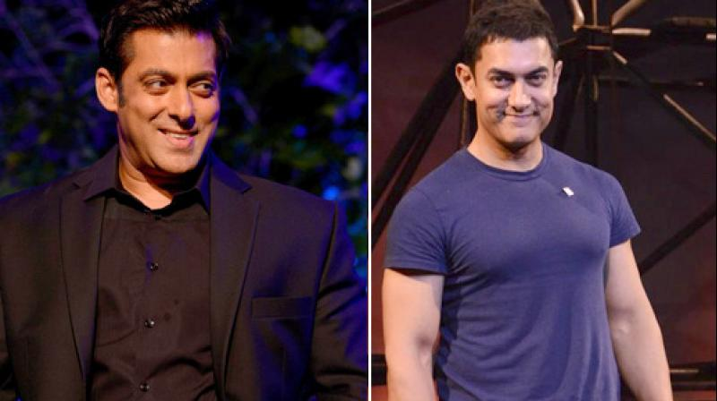 Salman Khan and Aamir Khan have had differences in the past, but are very good friends now.