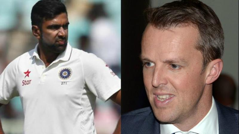 """I will pick, Ravi Ashwin. Experience counts for everything. He has done it. I will take him aside and I would say, ""Look, stop trying to do your leg-spin, bowl off-spin,"" said Graeme Swann. (Photo: AP / AFP)"