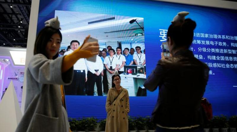 Chinese officials and business leaders speaking at the third World Internet Conference held in Wuzhen last week called for more rigid cyber governance. (Photo courtesy: Reuters)
