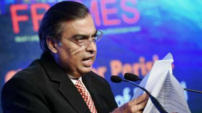 Chairman and Managing Director of Reliance Industries Ltd, Mukesh Ambani. (Photo: PTI)