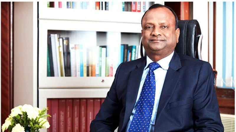 SBI Chairman Rajnish Kumar.