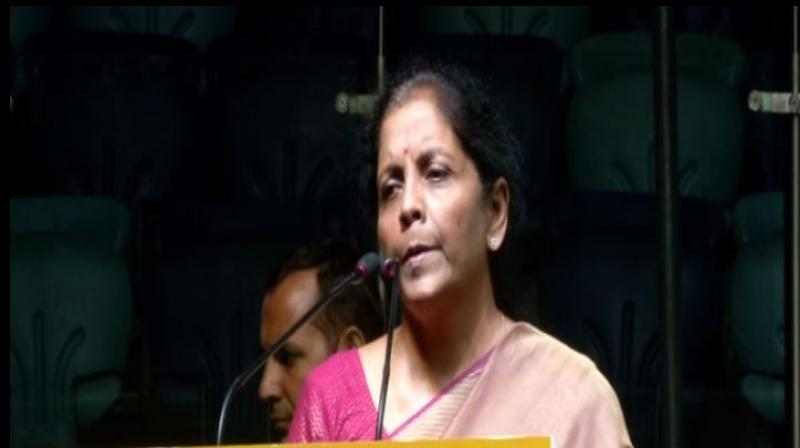 Finance Minister Nirmala Sitharaman (Photo: ANI)