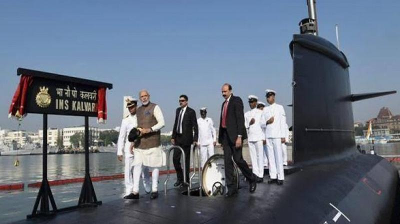 After 21 days of an extensive search, the Indian Navy finally located the PNS Saad on the western side of Pakistan. (Photo: ANI)