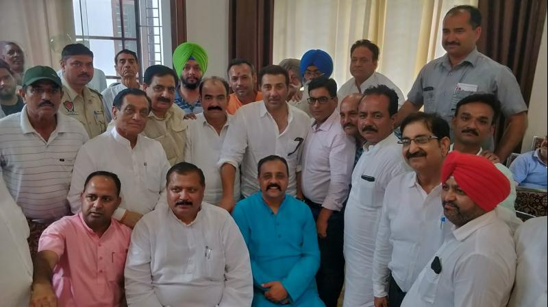Sunny Deol became a member of parliament for the first time after he defeated Congress's Sunil Jakhar with a massive margin in the recent general election. (Photo: Twitter | @iamsunnydeol)