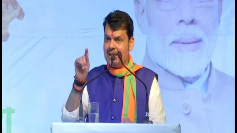 'State Government is in touch with NDRF, Army, Navy and other agencies too. CM Devendra Fadnavis spoke to Minister Eknath Shinde and asked CS to coordinate for relief measures,' Maharashtra CMO tweeted. (Photo: ANI)