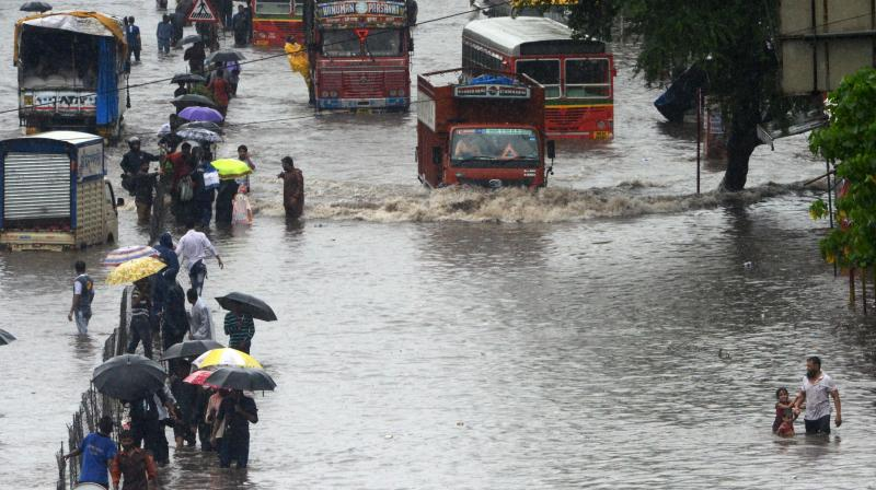 The financial capital of India- Mumbai has observed rainfall in some parts during the last 24 hours. But the intensity of the downpour was not even. (Representational Image)
