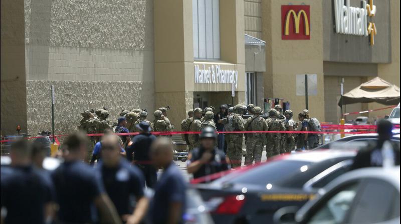 Police said that Walmart was