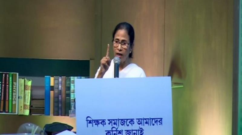 'Centre does not give us enough to spend and they take so much tax from the state,' Mamata Banerjee said. (Photo: ANI)