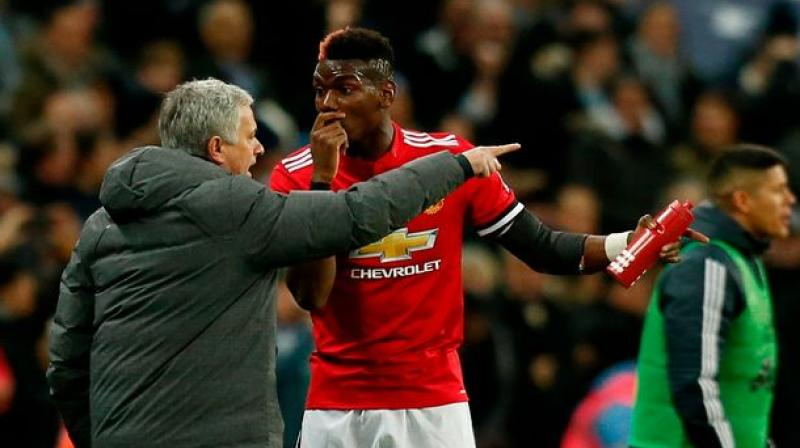 Mourinho believes Pogba's difficulties in overcoming hamstring and thigh injuries sustained in September have contributed to his struggles.(Photo: AFP)